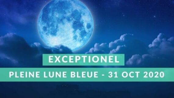 Lune Bleue du 31 Octobre 2020